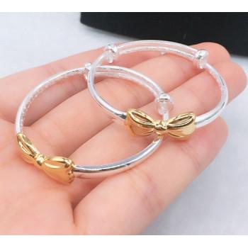 Baby bow bracelet