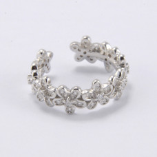 Flower band silver