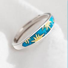 Van Gogh Sunflower ring