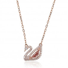 Delicate like a Swan Necklace