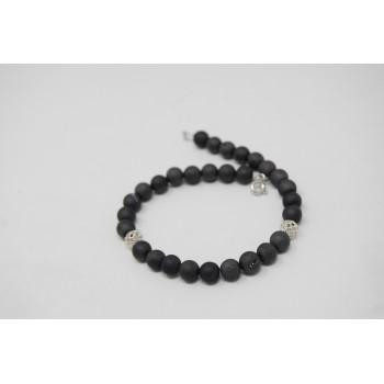 Grey stars bracelet