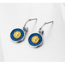 Van Gogh Sunflower earrings