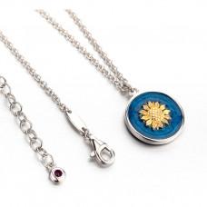 Van Gogh Sunflower necklace
