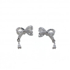 Sparkly bow earrings #2