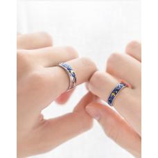 Vincent van Gogh Starry Night wedding rings