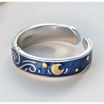 Van Gogh Starry Night Ring #2